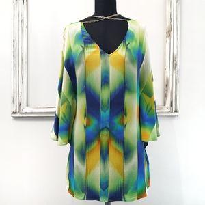Marciano La Vista Silk Tunic Top